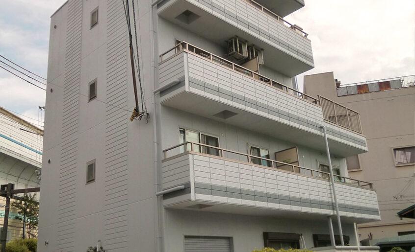 神戸市灘区外壁改修工事(RC4階建)